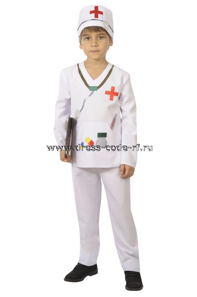 Костюм доктора айболита для мальчика своими руками